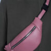 Темно розовый